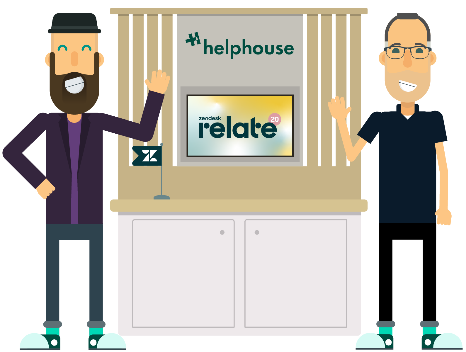 helphouse.io is sponsor at zendesk relate 2020