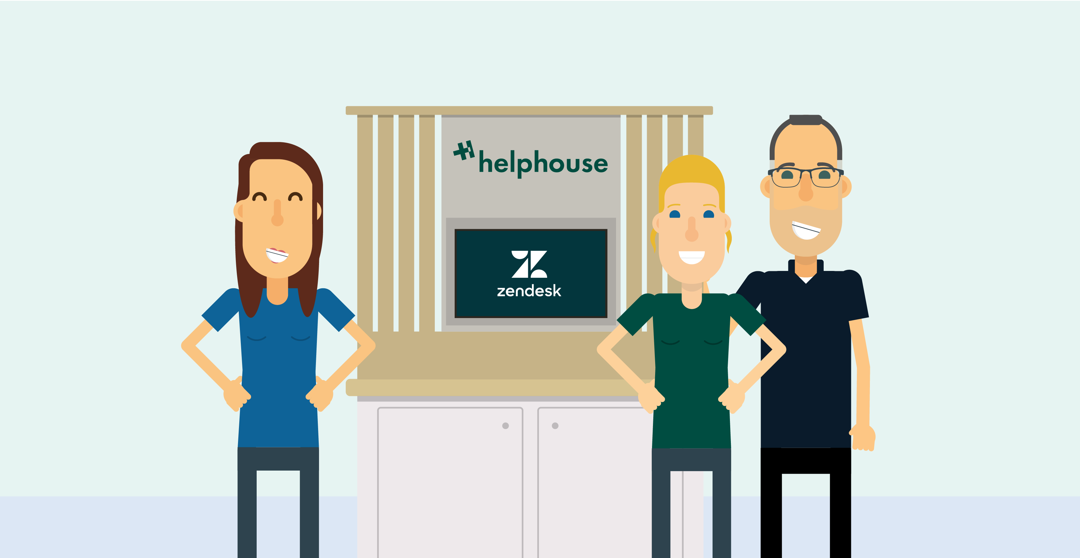 zendesk-presents-in-berlin-helphouseio-booth-gold-partners